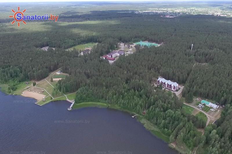 Санатории Белоруссии Беларуси - санаторий Боровое - Водоём