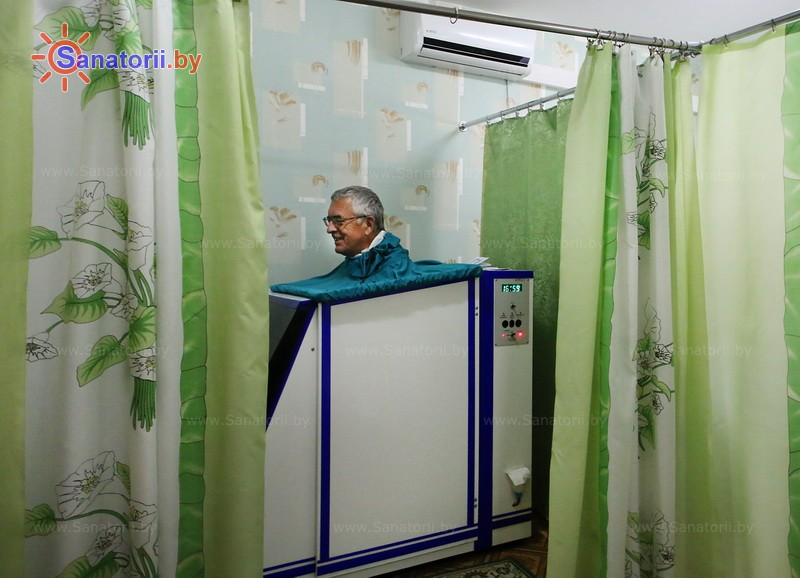 Санатории Белоруссии Беларуси - санаторий Буг - Ванна сухая углекислая