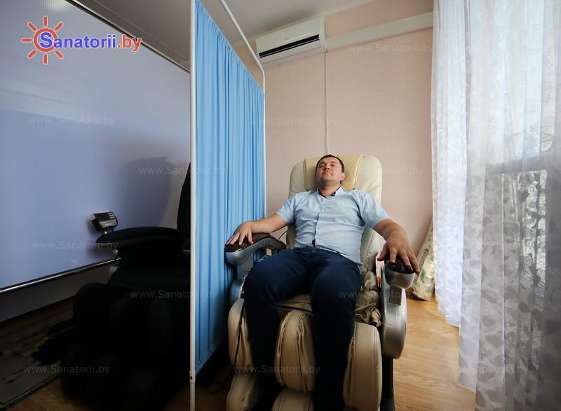 Санатории Белоруссии Беларуси - санаторий Буг - Массаж аппаратный