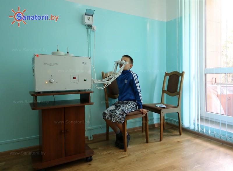 Санатории Белоруссии Беларуси - санаторий Буг - Увч-терапия