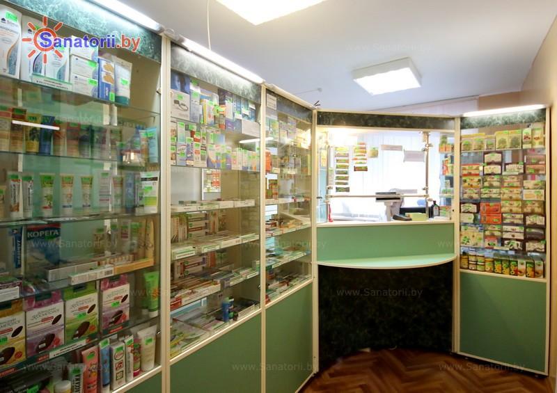 Санатории Белоруссии Беларуси - санаторий Буг - Аптечный киоск