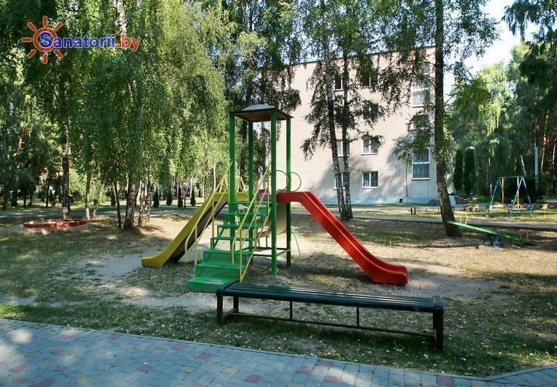 Санатории Белоруссии Беларуси - санаторий Буг - Детская площадка