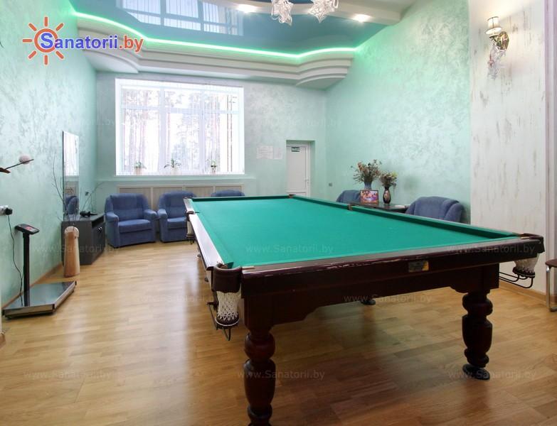Санатории Белоруссии Беларуси - санаторий Буг - Бильярд