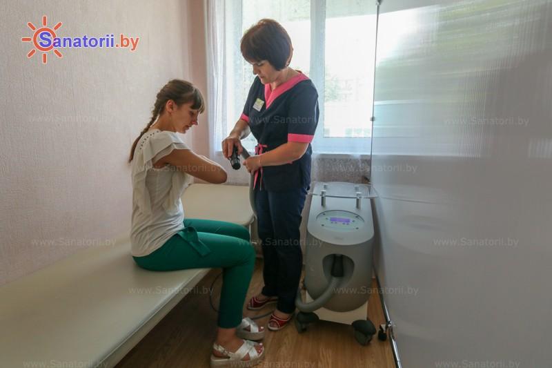 Санатории Белоруссии Беларуси - санаторий Буг - Криотерапия