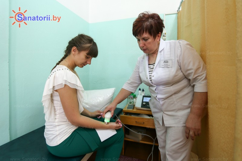 Санатории Белоруссии Беларуси - санаторий Буг - Электролечение