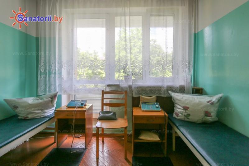 Санатории Белоруссии Беларуси - санаторий Буг - Электрогрязелечение (гальваногрязелечение)