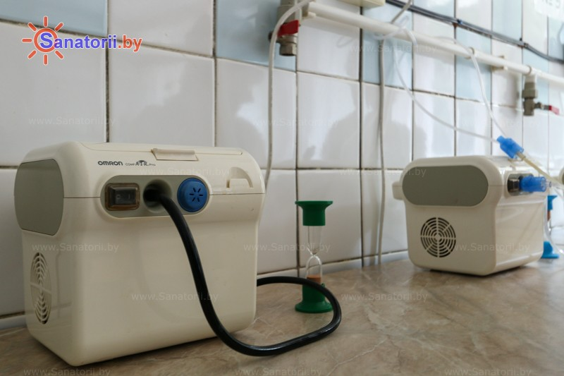 Санатории Белоруссии Беларуси - санаторий Буг - Ингаляции (аэрозольтерапия)