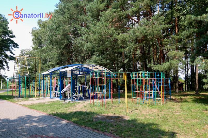 Санатории Белоруссии Беларуси - санаторий Буг - Спортплощадка