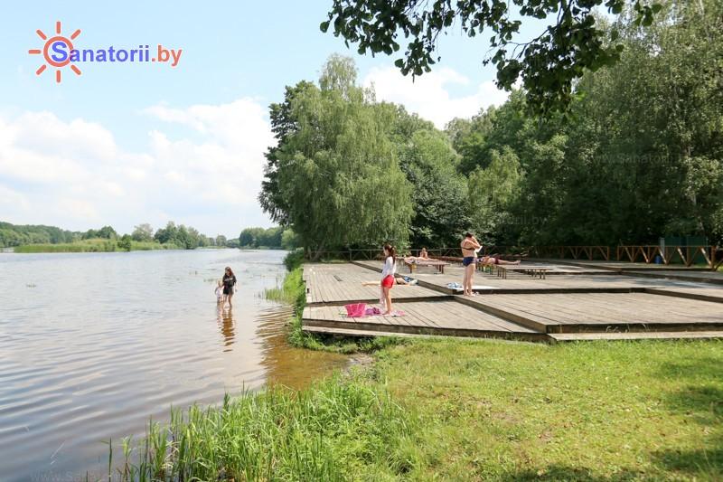 Санатории Белоруссии Беларуси - санаторий Буг - Пляж