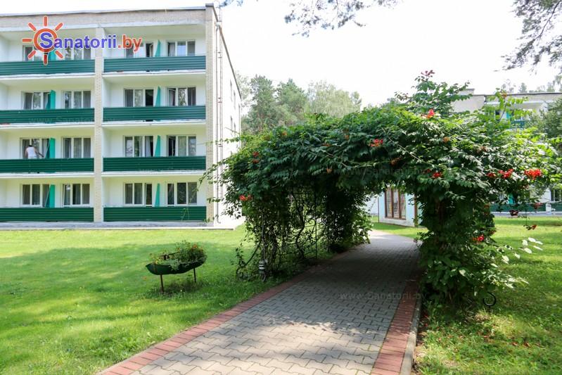 Санатории Белоруссии Беларуси - санаторий Буг - Территория и природа