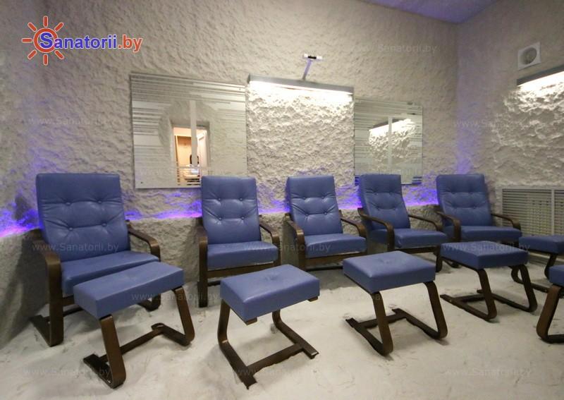 Санатории Белоруссии Беларуси - оздоровительный центр Энергетик - Галотерапия