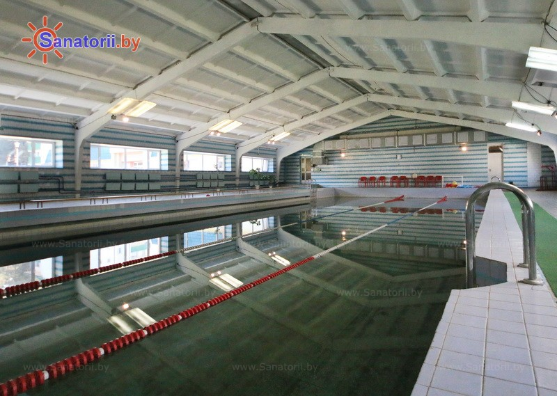 Health resort of Belarus - health-improving center Energetik Minsk - Swimming pool