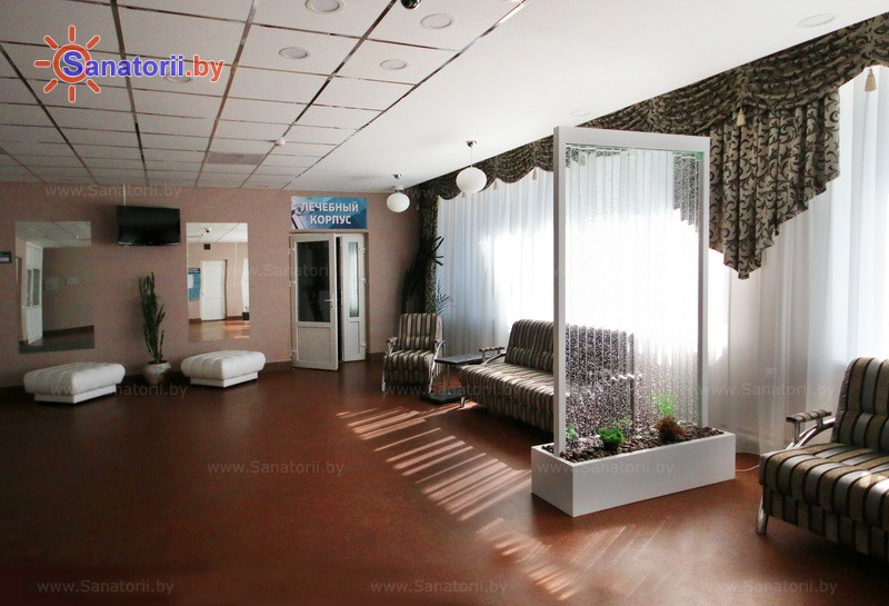 Санатории Белоруссии Беларуси - оздоровительный центр Энергетик - Медицинская база