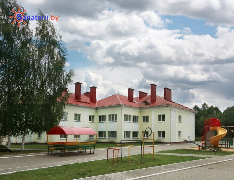 Санатории Белоруссии Беларуси - ДРОЦ Лесная поляна - спальный корпус №1