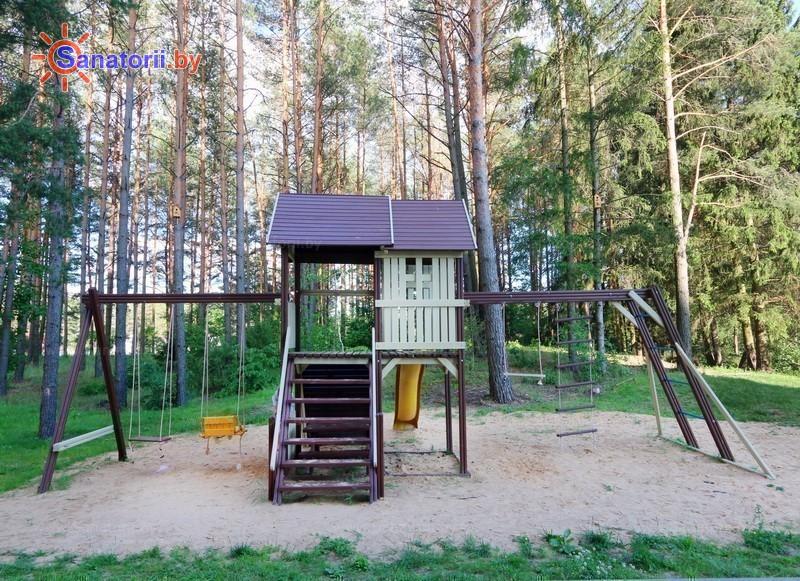 Санатории Белоруссии Беларуси - санаторий Альфа-Радон - Детская площадка